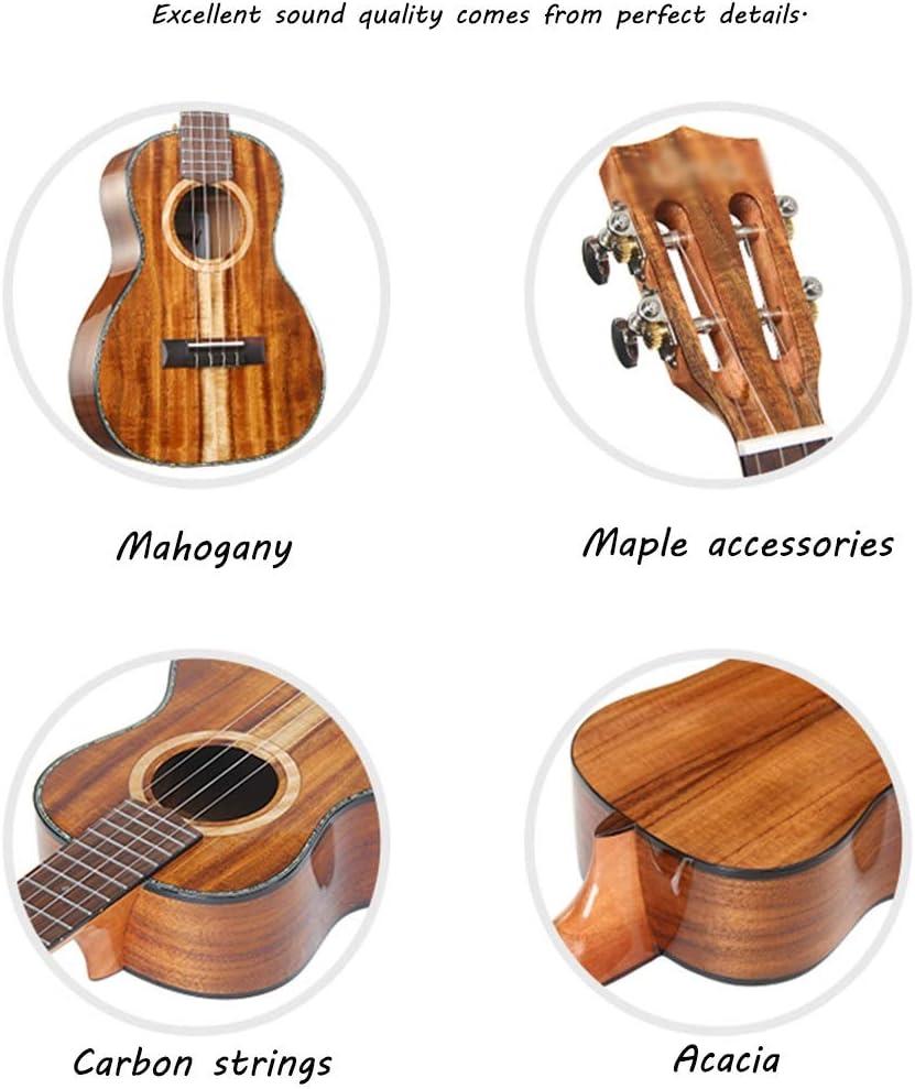 Ukulele Solo Instrument Ukuleles 23 / 26 4 cuerdas Hawaii ...