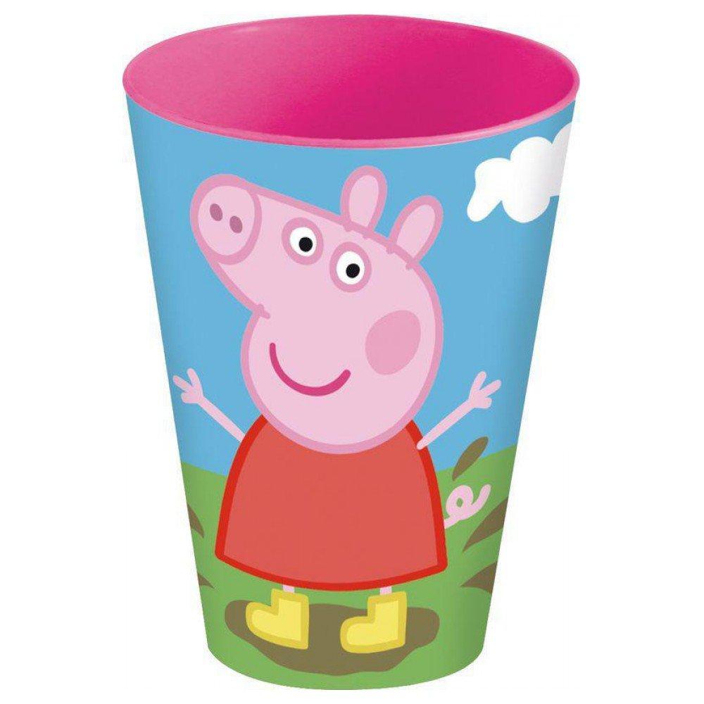 Peppa Pig Vaso apilable PP 430ml (STOR 52806)