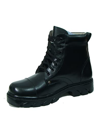245b548d965b new latest fashionable MEN S BLACK CASUAL PARA BOOTS WITH GENUINE LEATHER  SHOES (10)…
