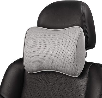 Aukee Headrest Pillow - The Best Convex-Shaped Travel Pillow