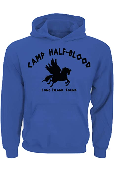 Camp half-Blood HOODIE orange Pegasus Percy Jackson Greek gods KIDS HOODY