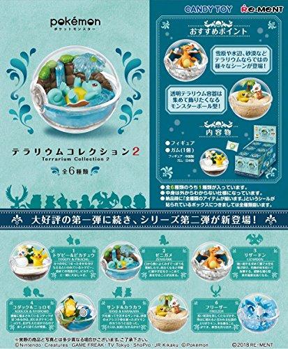 Re-Ment Pokemon Pikachu terrarium collection 2 miniature Complete Box Set of 6