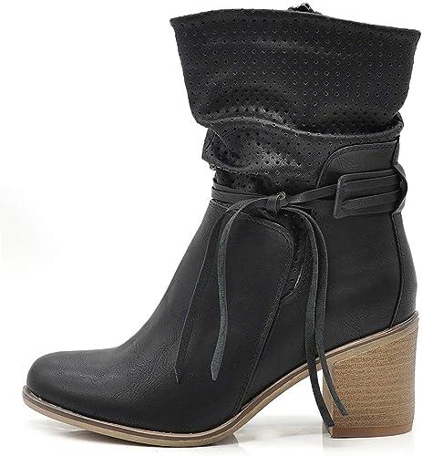 IF Fashion Scarpe da Donna Stivali Primaverili Estivi