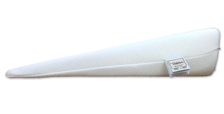 Almohada en forma de cuña, triangular, paras embarazadas, para las piernas y el reflujo gástrico