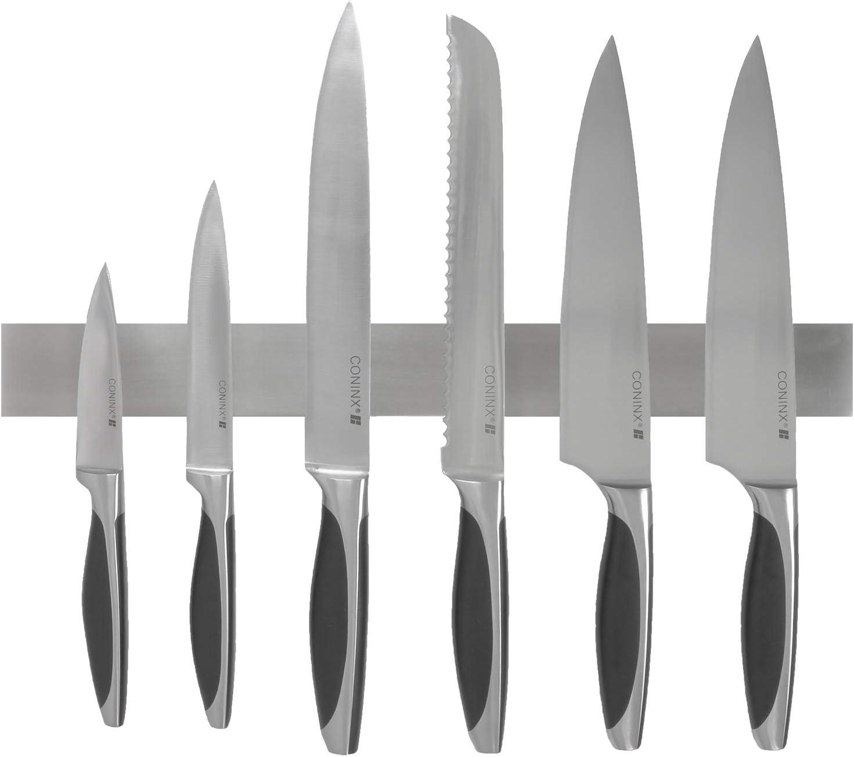 Barre magnétique 33 cm porte couteaux outils aimanté support cuisine établi