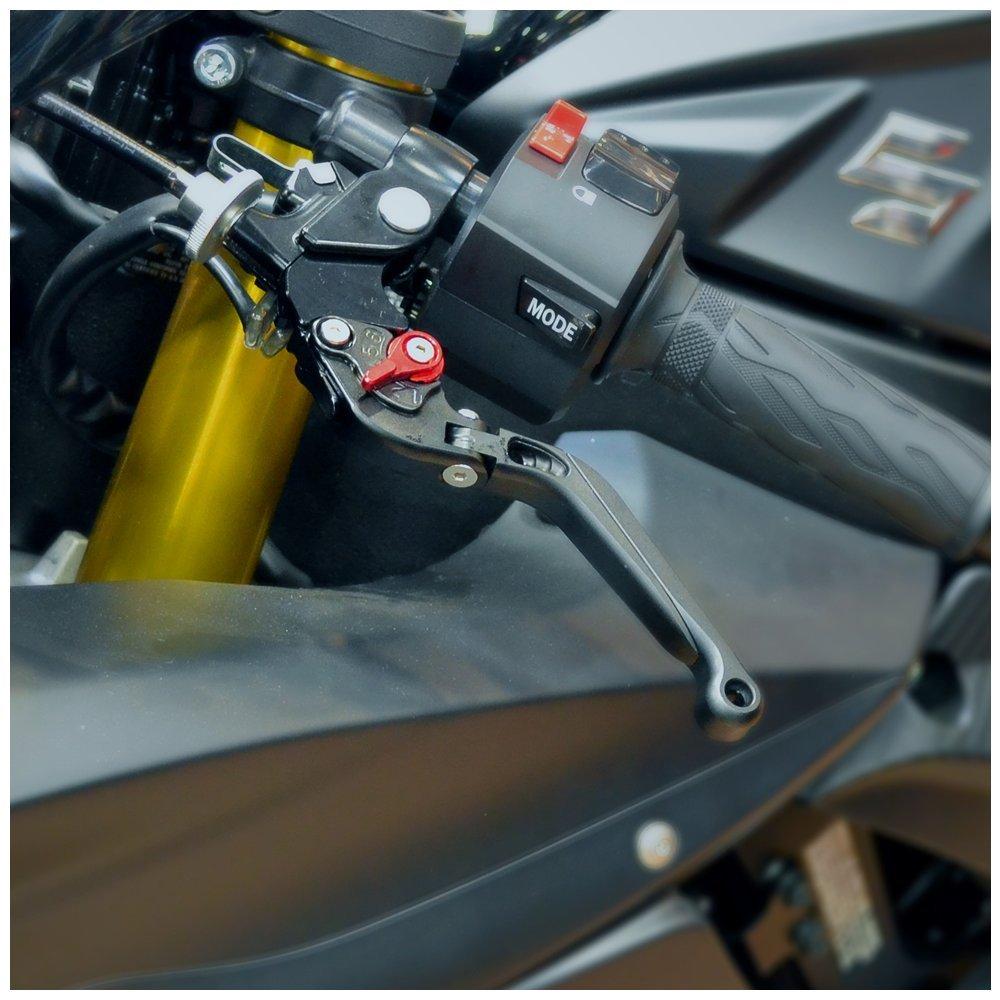 06-10 Hotbodies Racing 60610-2600 SUZ - Black MGP Levers GSX-R600//750 Pair