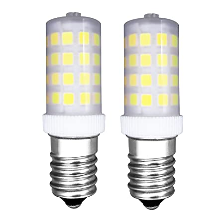 MZMing [2 Piezas] E14 Pequeño LED Bulbo 4W Bombillas Nevera ...
