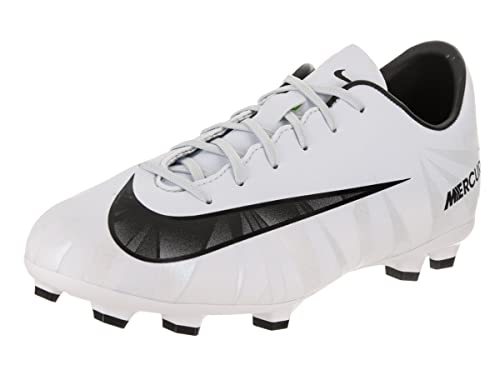 online store 52d60 39afb Nike Kids Jr Mercurial Victory VI CR7 Fg Blue Tint Black White Soccer Cleat