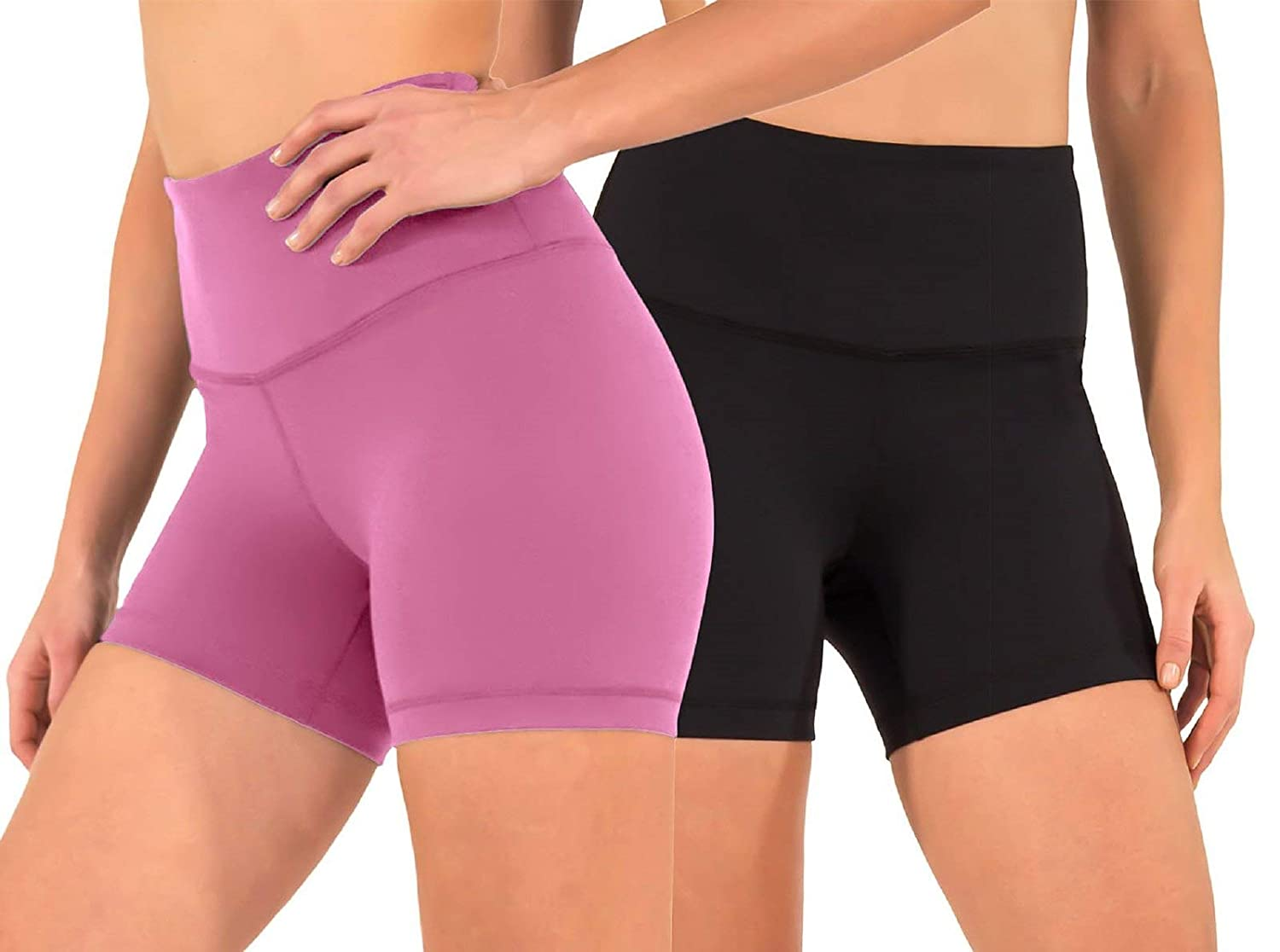 90 Degree By Reflex Power Flex Pantalones Cortos de Yoga ...