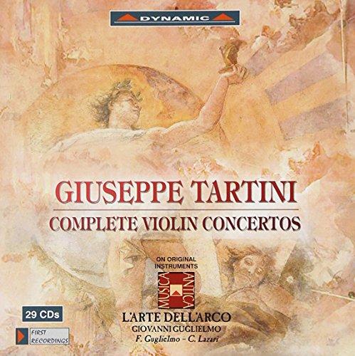 Tartini: Complete Violin Concertos Complete Violin Concertos Cd