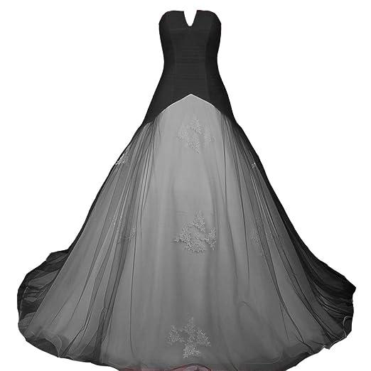 Kivary Strapless Long White Simple Colored Bridal Corset Wedding