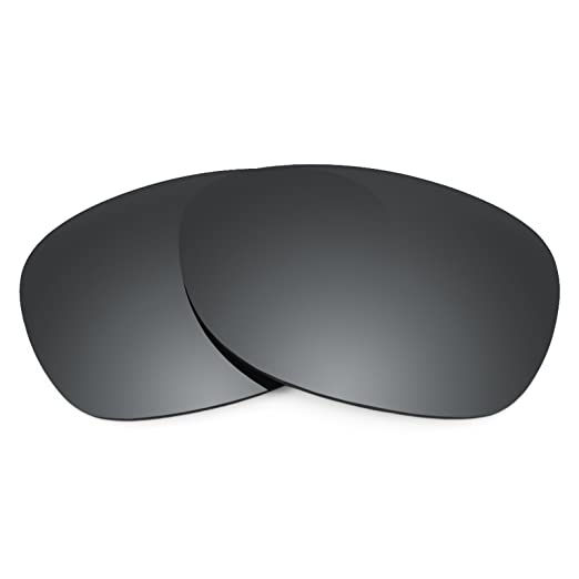 2486d89f9d6f1 Revant Polarized Replacement Lenses for Ray-Ban New Wayfarer RB2132 52mm  Elite Black Chrome MirrorShield