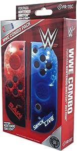 FR·TEC - WWE Fundas Carcasas Protectoras + Grips Para Mandos Joy- Con - L / R, Combo Pack - Nintendo Switch: Amazon.es: Videojuegos