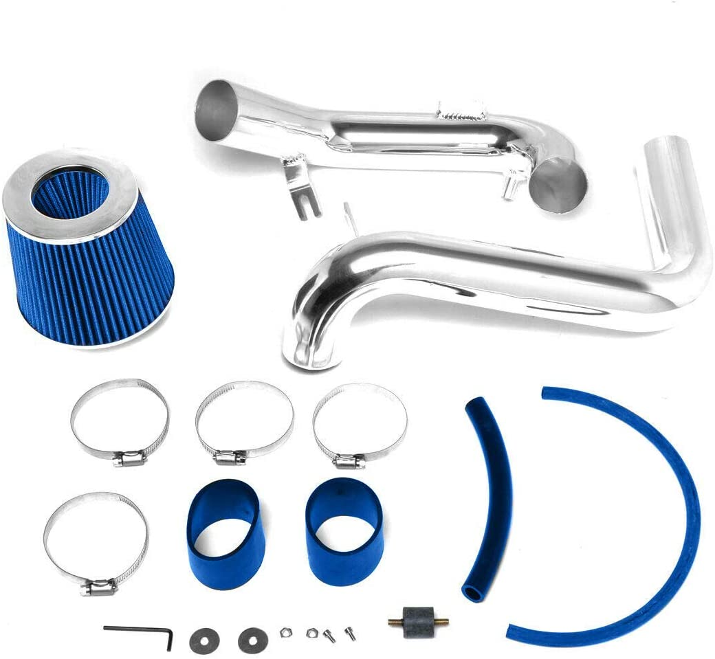 Filter for 2006 2007 2008 2009 2010 2011 Civic 1.8L 4-Cylinder Lizudian 3 inch Blue Cold Air Intake Induction Kit