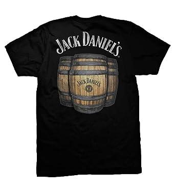 5b69fe1d406 Jack Daniel Barrel Tee Shirt  Amazon.co.uk  Clothing
