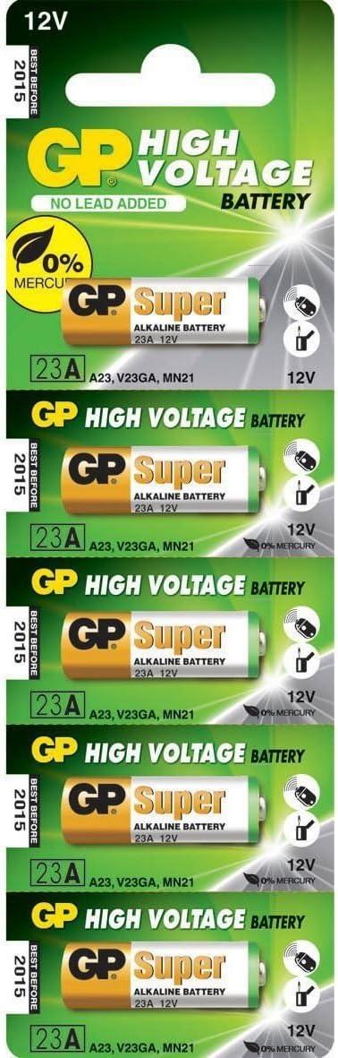 GP Batteries Super Alkaline 23AE batería no-recargable - Pilas (Alcalino, Cilíndrico, 12V)