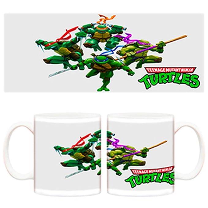 Diver Tazas Taza Las Tortugas Ninja Dibujos TMNT Dibujos ...