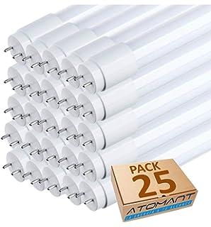 1200 Lm Blanco Neutro Iluminaci/ón de Interior 30.000 Horas de vida Garant/ía de 2 a/ños FactorLED Pack x25 Tubo LED 9W de Cristal 60cm Circular 300/º L/ámparas de techo