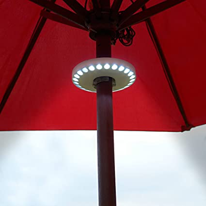 Beautiful Super Powerful LED Patio Umbrella Lights