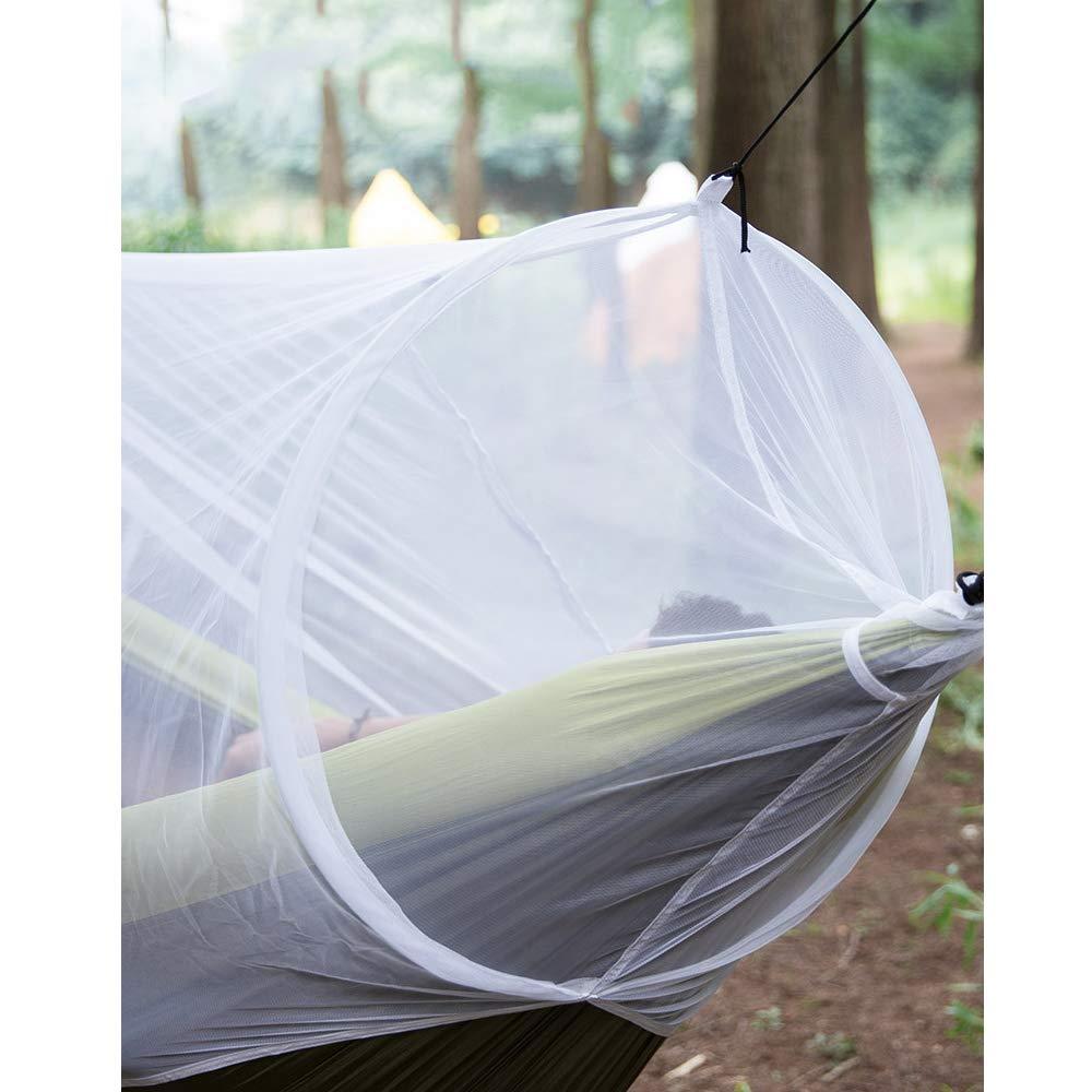 Amhuui Hamaca mosquitera, mosquitera, mosquitera, Camping Bug Net para Mantener Fuera Insecto Insectos se Adapta a la mayoría Las hamacas Outfitters Malla compacta, sin Hamaca 10e19a