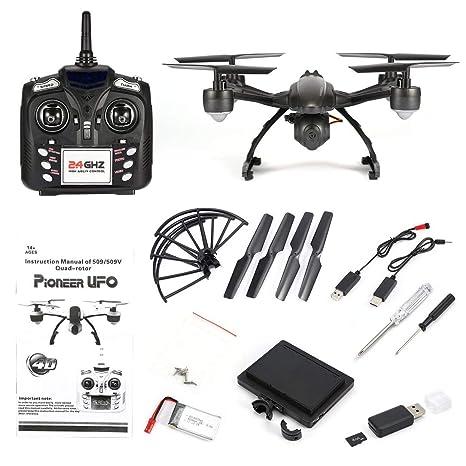 Amazon com: JIN XING DA 509G 2 4GHz Mini Drone 5 8G FPV RC