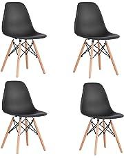 WV LeisureMaster YMS Dining Chairs(White/Black)