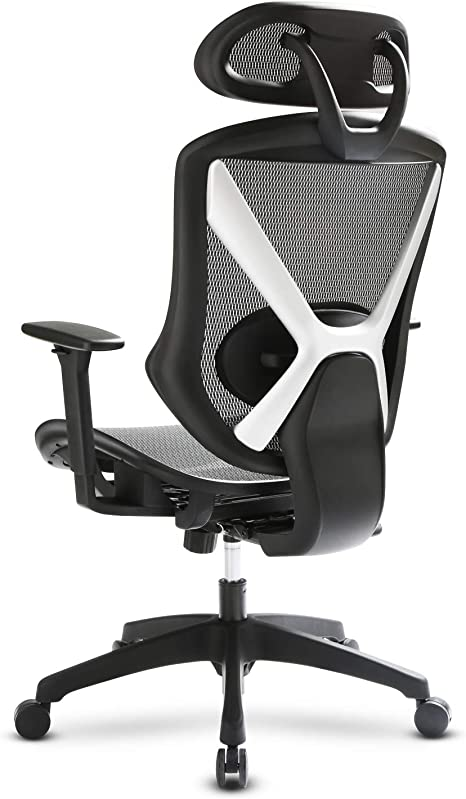 Intimate Wm Heart Height Adjustable Office Chair Ergonomic Chair With Height Adjustable Armrests And Headrests Breathable Backrest And Seat Cushion Black Amazon De Kuche Haushalt
