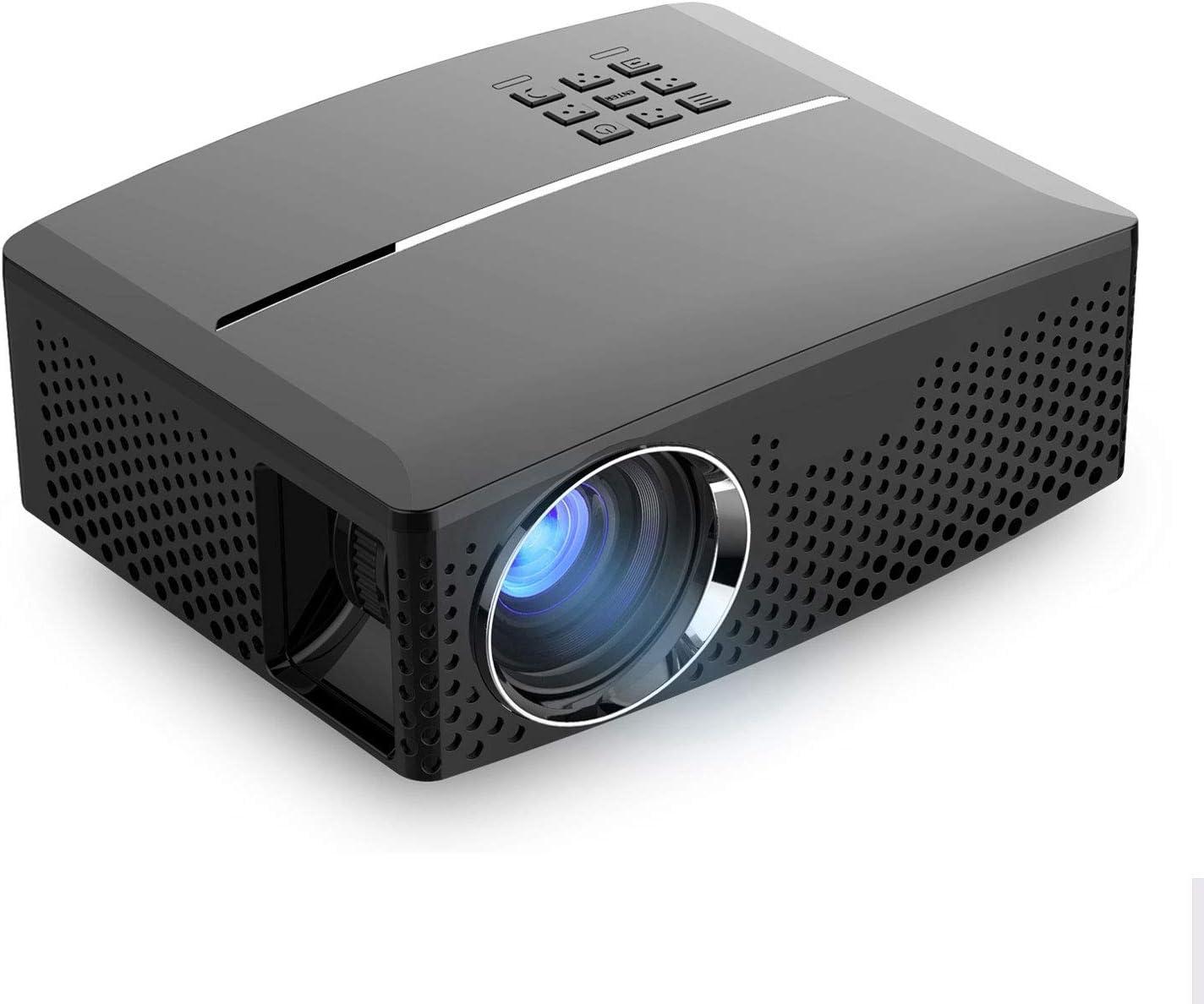 YYD Proyector LED - 1800 lúmenes 1080P Full HD Mini proyector ...