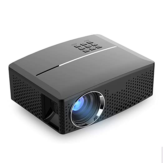 YYD Proyector LED - 1800 lúmenes 1080P Full HD Mini ...
