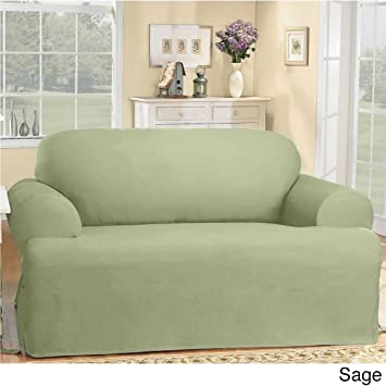 Amazon Com Surefit Duck Sofa Slipcover Loveseat Slipcover Pillow