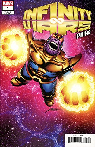 Infinity Wars Prime (2018) #1 VF/NM-NM George Perez Thanos Variant Cover