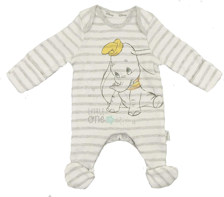 Babies Disney Unisex Sleepsuit Babygrow Romper Footsie Dumbo Winnie The Pooh