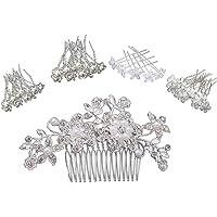 Kaimeilai Haarspelden, 41 stuks, met parels, voor bruiloft en bruid, U-vormige haarspelden, haaraccessoires…