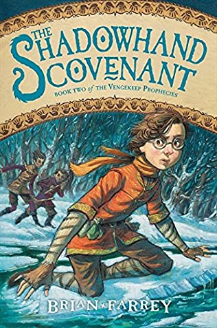 book cover of The Shadowhand Covenant