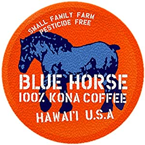 Farm-fresh: 100% Kona Coffee, Single Serve for Keurig K-Cup Brewers, 10 Count, Full-City Roast