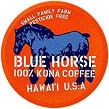 Farm-fresh: 100% Kona Coffee, Single Serve for 2.0 Keurig K-Cup Brewers, 10 Count, Full-City Roast