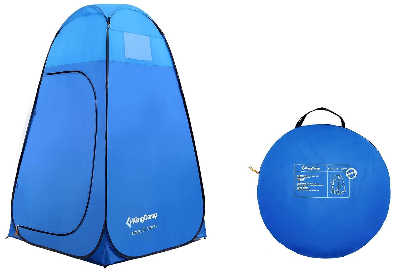 Tienda de campa/ña Multiusos de 450 mm para el Almacenamiento de Picnic para el ba/ño Camping Playa KingCamp Impermeable