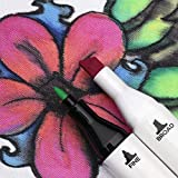 Fabric Markers with Permanent Brilliant Colors in