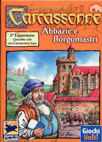 Giochi Uniti Carcassonne 6 Abbazie e Borgomastri - Juego de Mesa (versión en Italiano) [Importado de Italia]: Amazon.es: Juguetes y juegos