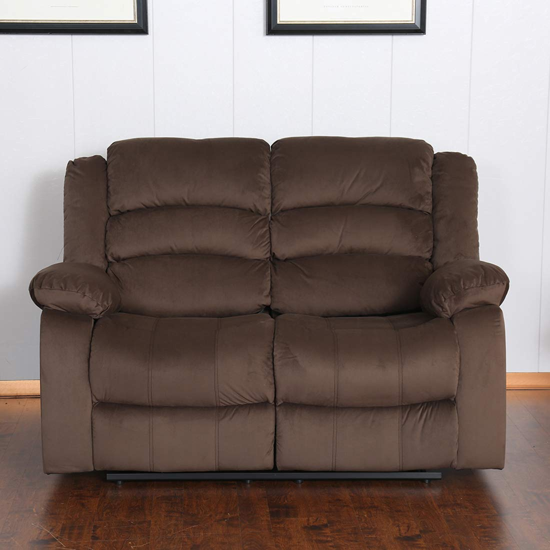 Royaloak Parker Two Seater Recliner (Brown)