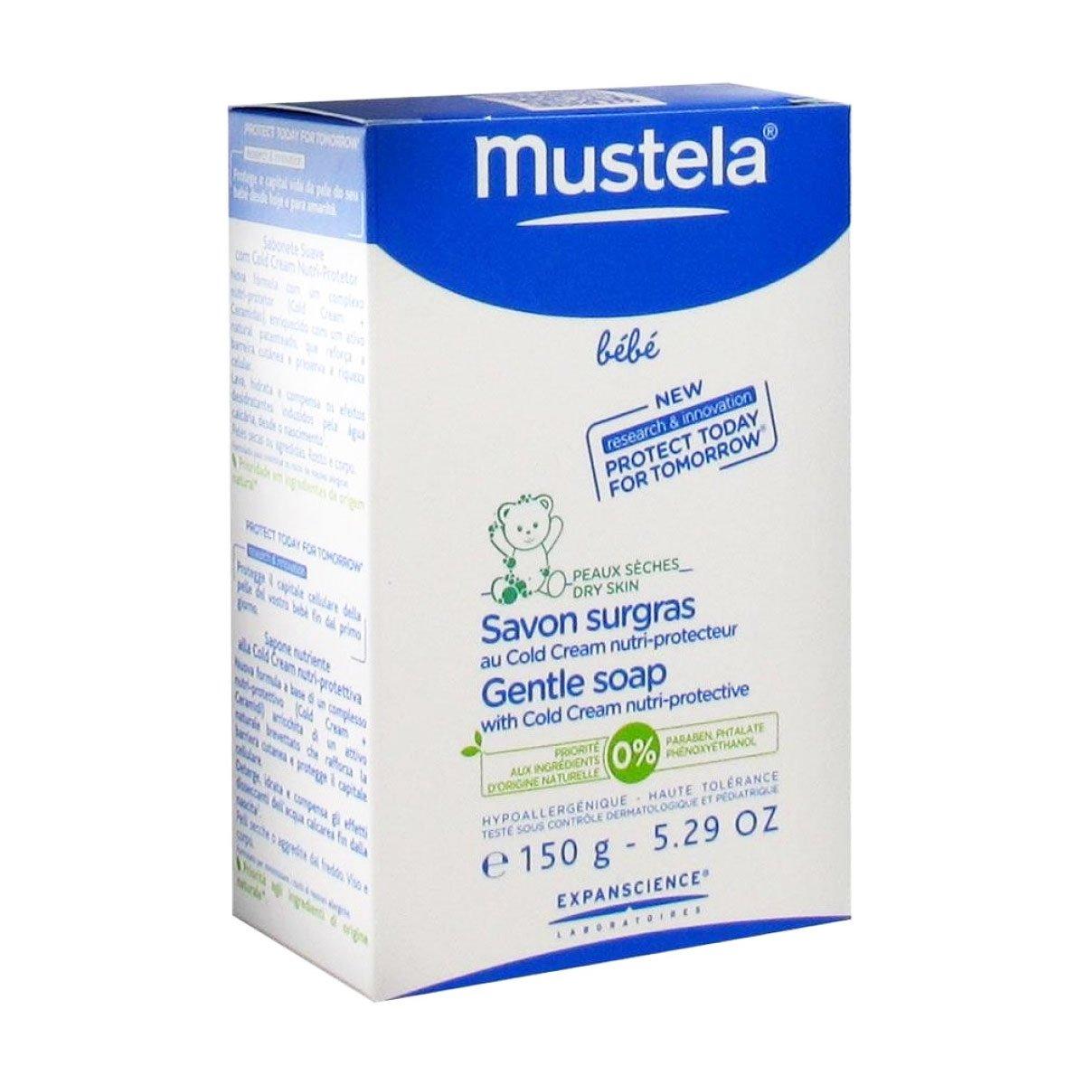 Mustela Cold Cream Soap 150g: Amazon.es: Belleza