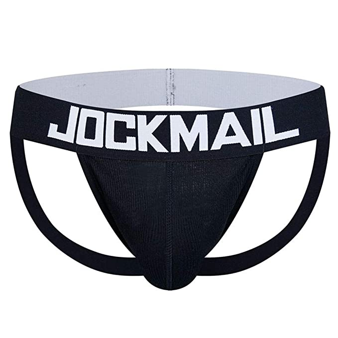 fb6ea87a1 Jockmail Men Underwear Men G-String Thongs Sexy Gay Underwear Brand Men Sexy  (M