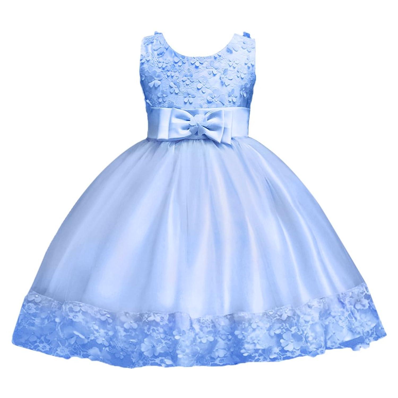 FYMNSI FYMNSI Kinder Mädchen Partykleid Blumen Tutu Prinzessin ...