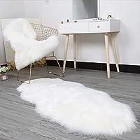 16 x 24inch Bending Shape Solid Fluffy Carpet Bedroom Living Room Décor