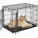 MidWest iCrate Single Door & Double Door Folding Metal Dog Crates