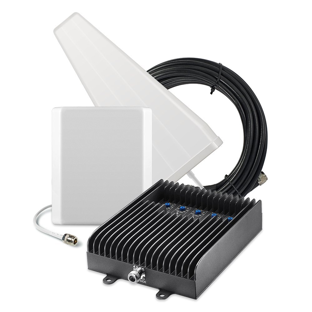 SureCall Fusion5S Yagi Panel Five-band Home Cellular Signal Booster Amplifier Kit