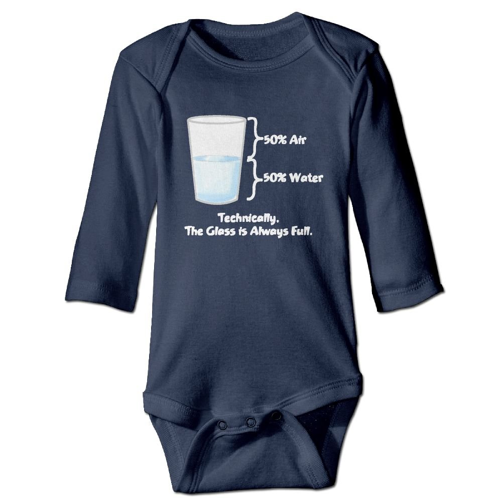 NEWBABY Technically The Glass Is Completely Baby Long Sleeves Climbing Clothes For 6-24m Baby