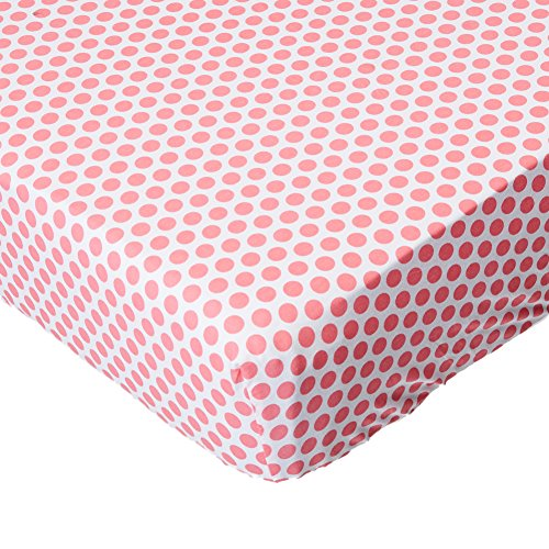 My Baby Sam Gypsy Baby Crib Sheet, Pink