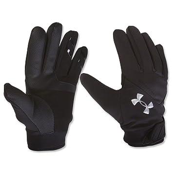 Charmant Under Armour ColdGear Sideline Glove Black / Black / Silver Medium