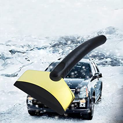 Car Vehicle Auto Snow Cleaning Remover Windshield Shovel Handheld Ice Scraper Snow Brush Car Ice Scraper Spade & Shovel